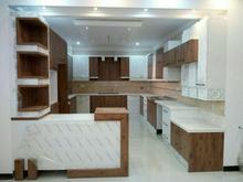 کابینت آشپزخانه ام دی اف نیمه براق مغز خارجی در شیپور