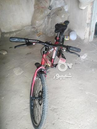 دوچرخه فروشی سایز 26 تمیز  در گروه خرید و فروش ورزش فرهنگ فراغت در آذربایجان غربی در شیپور-عکس1