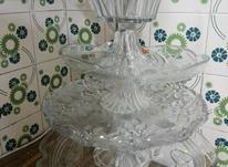 ظروف بلور میوه وشیرینی تمیز وسالم در شیپور-عکس کوچک