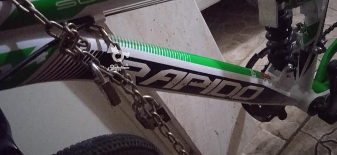 دوچرخه ی کوهستان سایز 24 در گروه خرید و فروش ورزش فرهنگ فراغت در سمنان در شیپور-عکس2