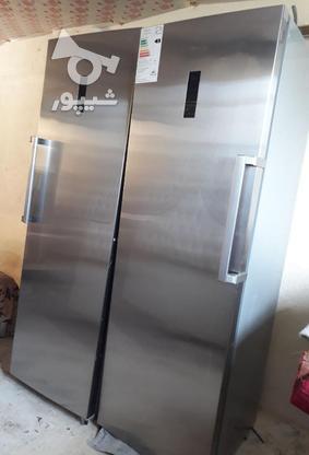 یخچال فریزر دو قلو هایسنس در گروه خرید و فروش لوازم خانگی در مازندران در شیپور-عکس1