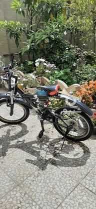 دوچرخه دنده ای سایز16کاملا سالم در گروه خرید و فروش ورزش فرهنگ فراغت در گیلان در شیپور-عکس3