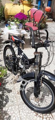 دوچرخه دنده ای سایز16کاملا سالم در گروه خرید و فروش ورزش فرهنگ فراغت در گیلان در شیپور-عکس1
