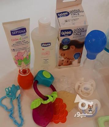 فلاسک شیشه شیر پستونک سیسمونی نوزاد در گروه خرید و فروش لوازم شخصی در تهران در شیپور-عکس2