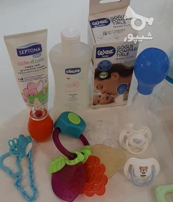 فلاسک شیشه شیر پستونک سیسمونی نوزاد در گروه خرید و فروش لوازم شخصی در تهران در شیپور-عکس4