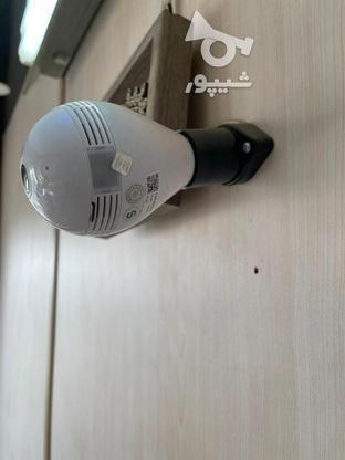 دوربین لامپی مداربسته بیسیم چهار تصویر  در گروه خرید و فروش لوازم الکترونیکی در مازندران در شیپور-عکس8