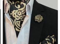 ست دستمال گردن و پوشت و گل یقه در شیپور-عکس کوچک