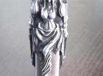 فندک زیپو بال و فرشته در شیپور-عکس کوچک