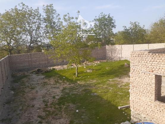فروش قطعه زمینی که دور دیوارکشی شده با درب بزرگ  در گروه خرید و فروش املاک در گلستان در شیپور-عکس1