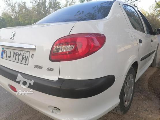پژو 206 SD فول خونگی تمیز در گروه خرید و فروش وسایل نقلیه در اصفهان در شیپور-عکس1