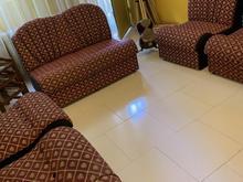 مبلمان راحتی 7 نفره با سه عدد میز عسلی در شیپور