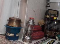 چراغ نفتی زنبوری پترومکس برنجی آلمانی عتیقه قدیمی توری در شیپور-عکس کوچک