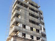 نقشه شاسی کشی نما ساختمان مهر محاسب طراحی سازه  در شیپور