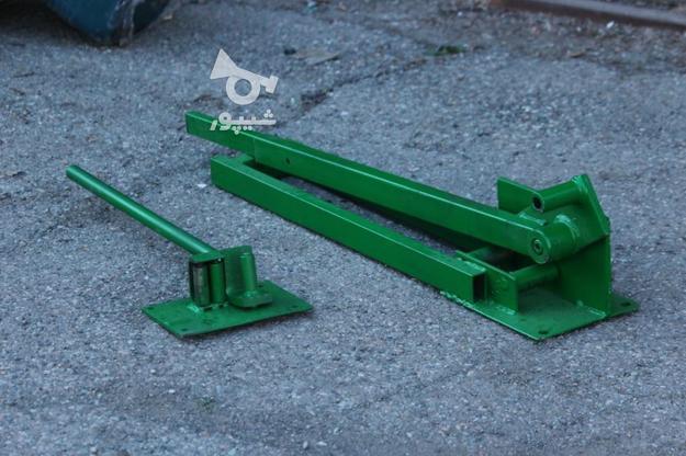 دستگاه قیچی میلگرد بر و خم کن تا سایز 32 در گروه خرید و فروش صنعتی، اداری و تجاری در فارس در شیپور-عکس3