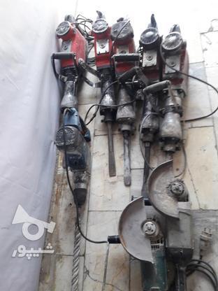 اجاره چکش برقی تهرانسر در گروه خرید و فروش صنعتی، اداری و تجاری در تهران در شیپور-عکس1