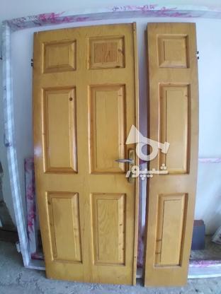 درب چوبی نرات در گروه خرید و فروش لوازم خانگی در مازندران در شیپور-عکس1