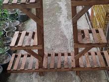 استند گل چوبی نو و استفاده نشده  در شیپور