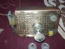 قفل درب حیاط سالم مدل قفل زبونه  در شیپور