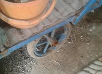گاری چهار چرخ  درحد نو دور کشی شده  در شیپور-عکس کوچک