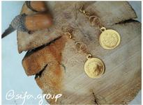 گوشواره سکه ای رنگ ثابت در شیپور-عکس کوچک