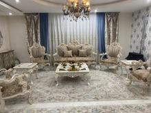 مبل سلطنتی 7 نفره همراه نهار خوری 6 نفره در شیپور