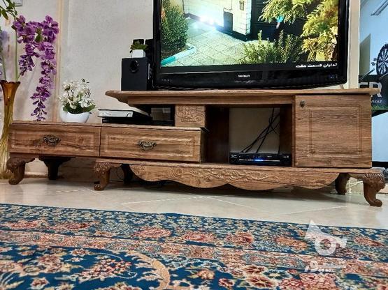 میز تی وی در حد نو و بسیار تمیز و کم کار کرد در گروه خرید و فروش لوازم خانگی در سمنان در شیپور-عکس1