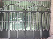 درب سالم 4 لنگه با شیشه رفلکس در شیپور