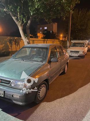 پراید صبا (صندوقدار) 1386 سبززیتونی تک سوز در گروه خرید و فروش وسایل نقلیه در سمنان در شیپور-عکس1