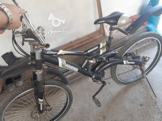 دوچرخه ماکسیما سایز 27  در گروه خرید و فروش ورزش فرهنگ فراغت در گیلان در شیپور-عکس3