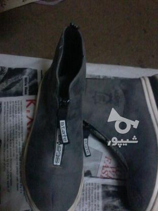 کفش نیم بوت . ساده در گروه خرید و فروش لوازم شخصی در اصفهان در شیپور-عکس1