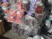 قابلمه تابه سماور سینی ظرف غذا لیوان کتری و قوری در شیپور