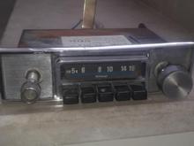 رادیو لامپی خودرو کلاسیک  قدیمی  در شیپور