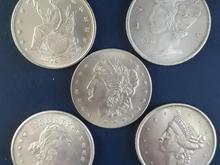 5 عدد سکه کلکسیونی امریکا  در شیپور