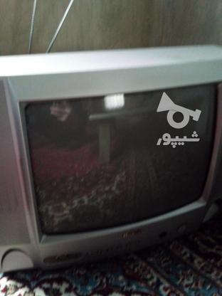 تلویزیون بلر 14 اینچ با میز  در گروه خرید و فروش لوازم الکترونیکی در تهران در شیپور-عکس1