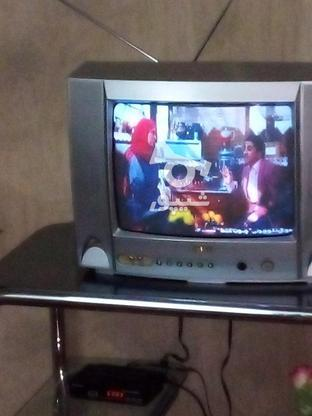 تلویزیون بلر 14 اینچ با میز  در گروه خرید و فروش لوازم الکترونیکی در تهران در شیپور-عکس4