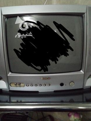 تلویزیون بلر 14 اینچ با میز  در گروه خرید و فروش لوازم الکترونیکی در تهران در شیپور-عکس2