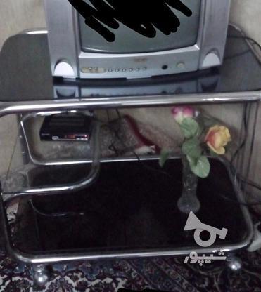 تلویزیون بلر 14 اینچ با میز  در گروه خرید و فروش لوازم الکترونیکی در تهران در شیپور-عکس6