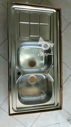 سینک روکار اخوان 120.60  در گروه خرید و فروش لوازم خانگی در خراسان رضوی در شیپور-عکس5