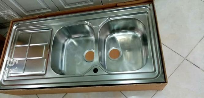 سینک روکار اخوان 120.60  در گروه خرید و فروش لوازم خانگی در خراسان رضوی در شیپور-عکس1