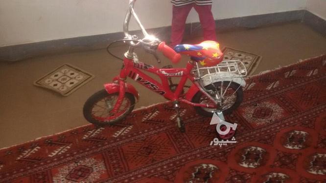 دوچرخه قرمز 10 در گروه خرید و فروش ورزش فرهنگ فراغت در گلستان در شیپور-عکس1