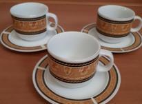 سه تا فنجان نعلبکی چینی در شیپور-عکس کوچک
