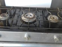 گاز سه شعله طرح فر در حد نو  در شیپور