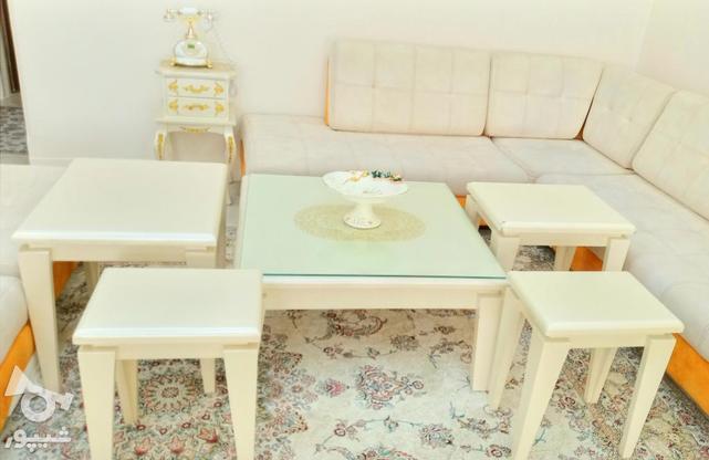 میز جلو مبلی همراه 4 عسلی و میز تلفن در گروه خرید و فروش لوازم خانگی در سمنان در شیپور-عکس1