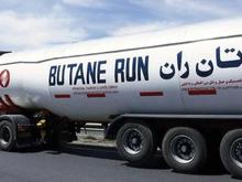 جذب کشنده برای حمل تانکر گاز در شیپور