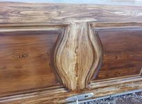 درب چوبی کارکردهبه همراه چارجوب نو در شیپور-عکس کوچک