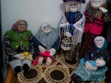 عروسکها ی دستساز سنتی در شیپور