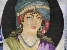 تابلو فرش چهره برجسته در شیپور
