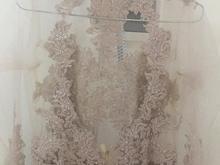 لباس مجلسی پشت باز تور رنگ بدن سایز 38 و 40 در شیپور