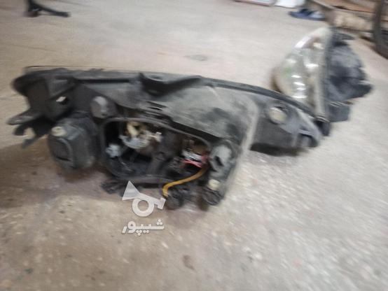 2 جفت چراغ جلو 206 در گروه خرید و فروش وسایل نقلیه در یزد در شیپور-عکس5