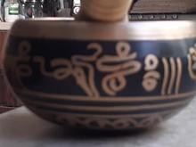 کاسه تبتی با حروف مانترا، قطر 10cm در شیپور